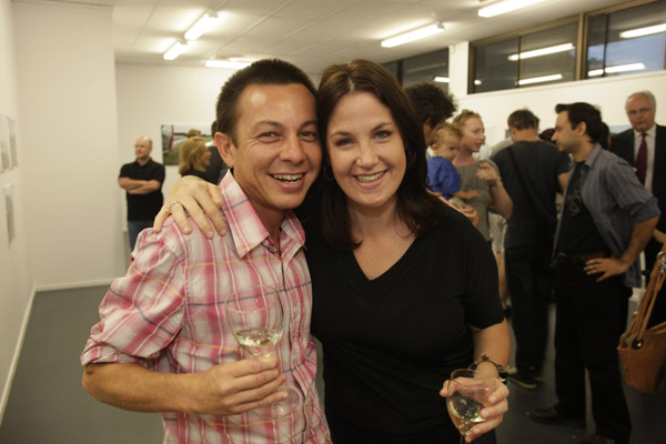 Graham Miller and Amy Stein Foto Freo launch of Stranded