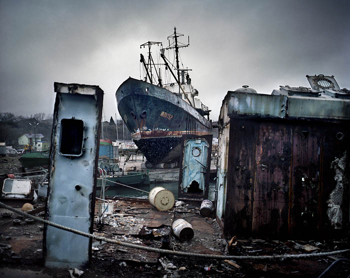 UKRAINE / Ilichovsk / Harbor Photo Rafal Milach