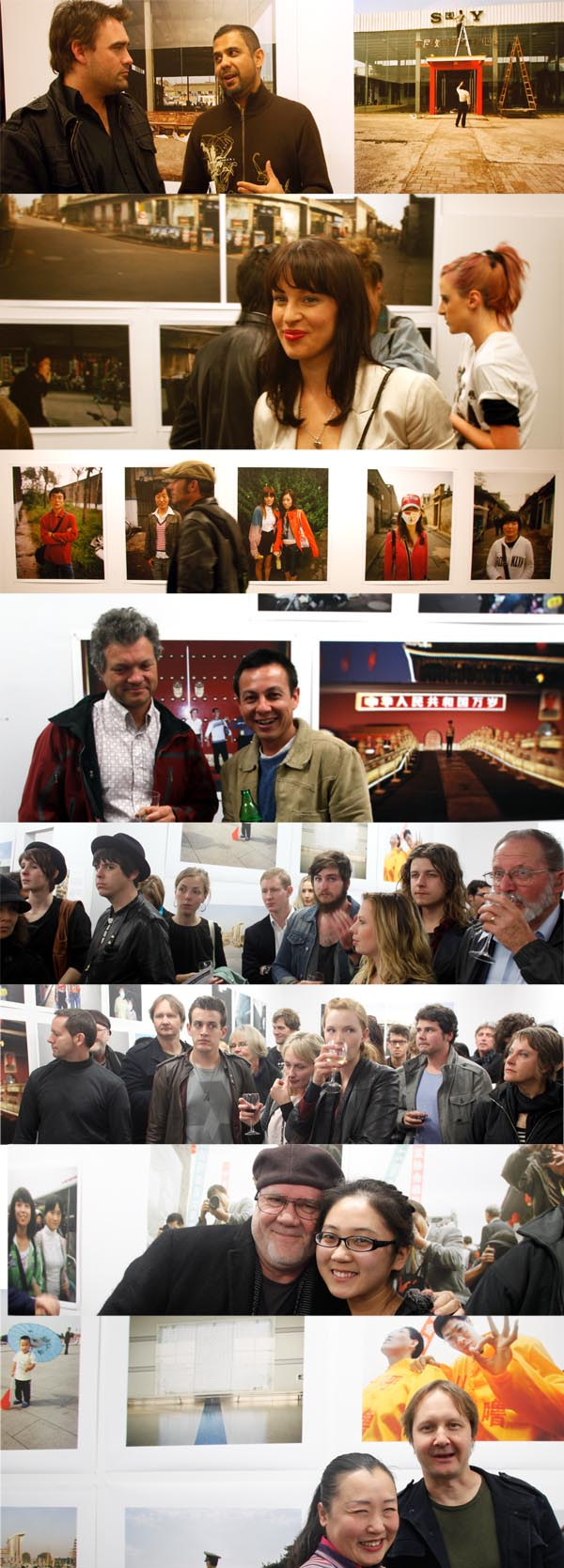 Graham Miller, Kevin Ballantine, Juha Tolonen, Mike Gray and friends at PCP launch of 8 Days, photos taken during the Pingyao International Photography Festival