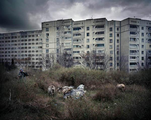 UKRAINE / Sevastopol / 08.12.2008 / housing blocks district © Rafal Milach