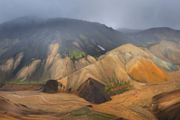 Landmannalaugar Iceland  Photo Romain Chassagne