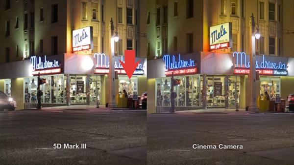 Black Magic Cinema Camera inevitably invites comparison with the Canon