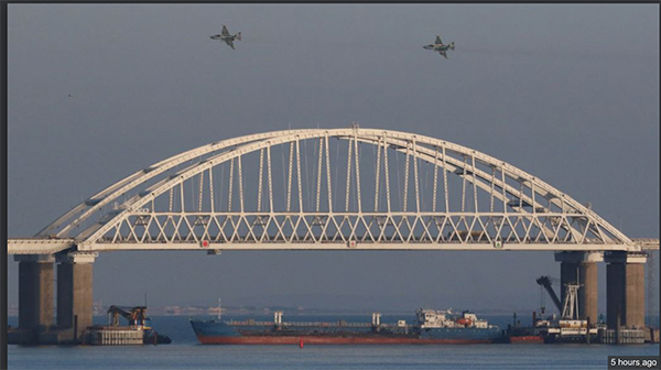 The Kerch Straits Blockade